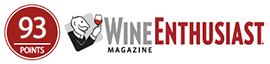 Wine Enthusiast 93PTS - Davis Family Vineyards Starr Ridge Pinot Noir