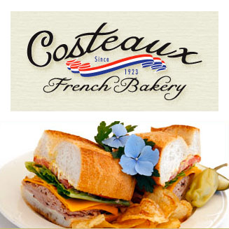 Costeaux French Bakery lunches